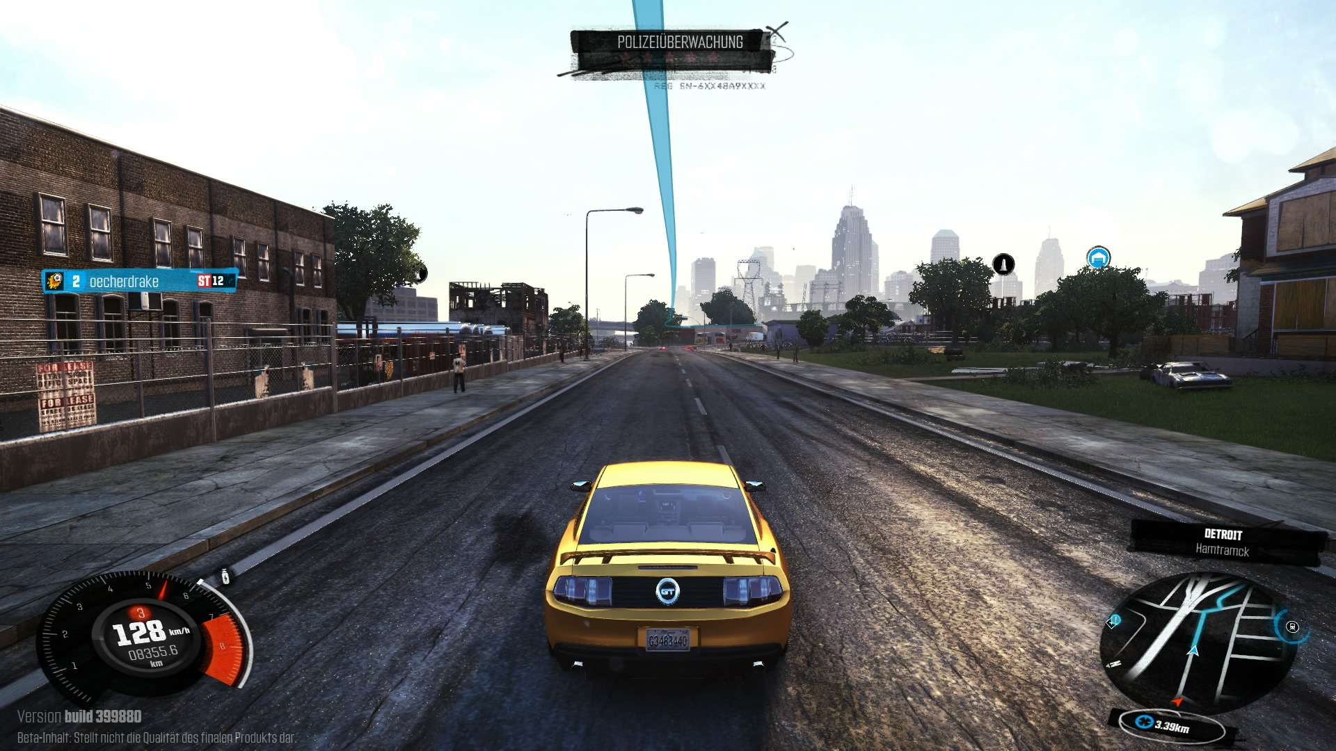 "Xbox 360 - ""The Crew ""-Screenshot"